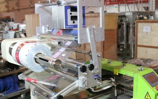 Bakery(Cake,Bread,Biscuit) Auto Feeding Tray Packaging Machine