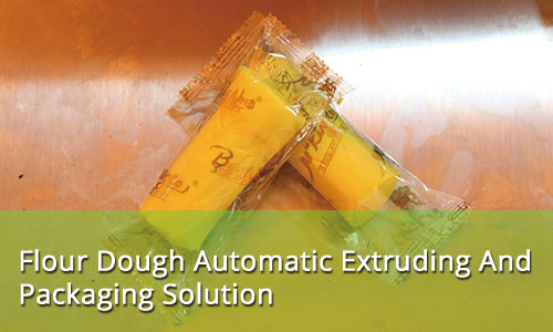 Flour Dough Extruding And Packaging