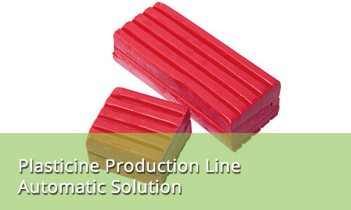 Plasticine Production Line Automatic Solution