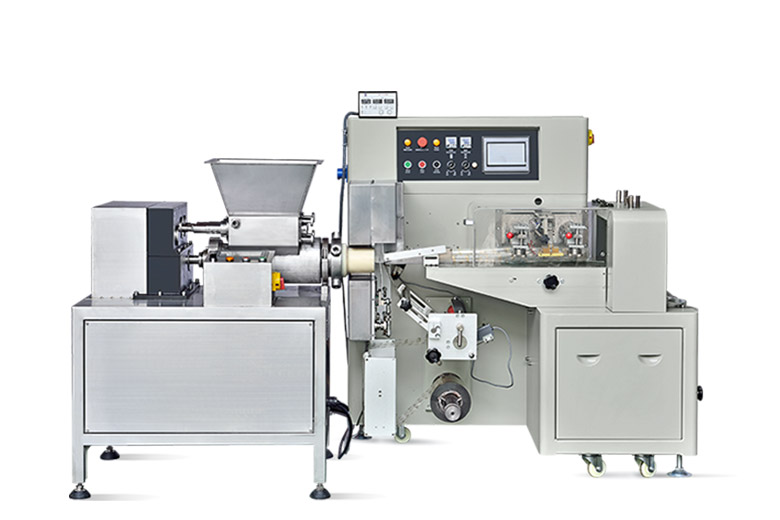full automatic play dough extrusion and packing line | chlbpack
